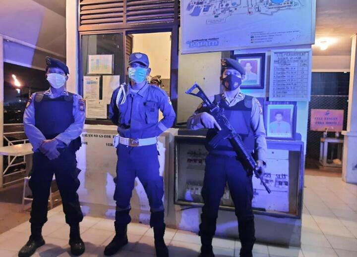 Polres Rohil Laksanakan Patroli Obvitnas Pemantapan Harkamtibmas
