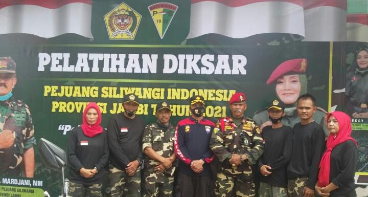 Pelatihan Diksar Provost Pejuang Siliwangi Indonesia di Provinsi Jambi Tahun 2021