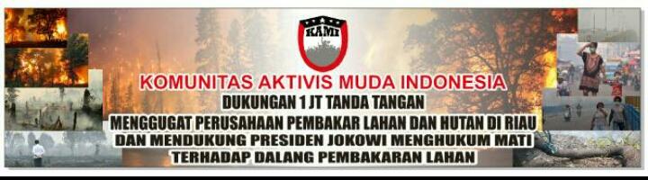 PB KAMI Akan Gelar Aksi Simpatik Untuk Rakyat Riau
