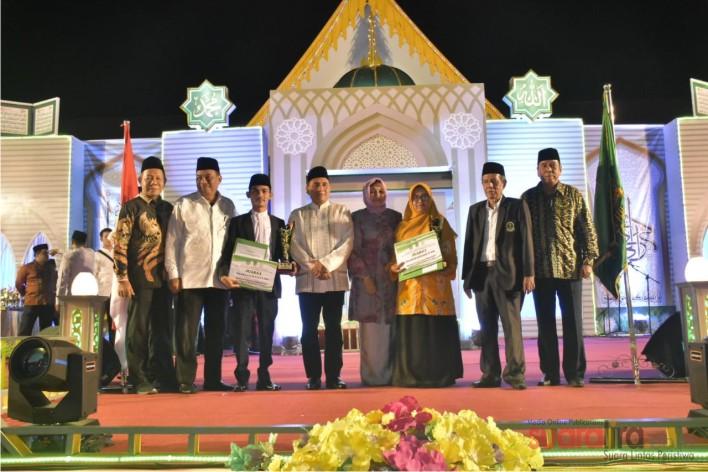 STQH XVI Sumut Berakhir, Medan Juara Umum
