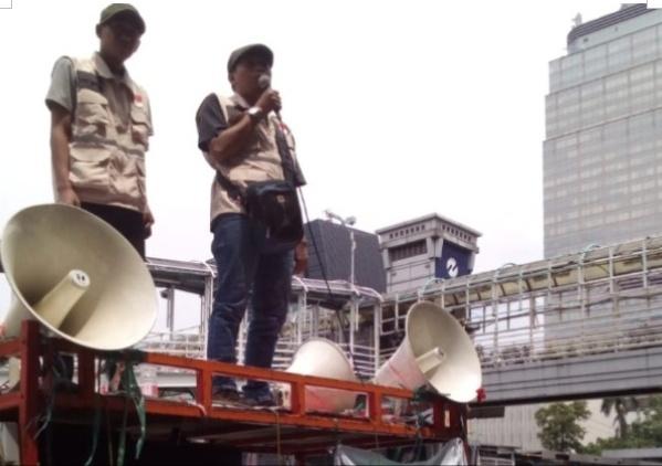 KPK Demo ke Bawaslu RI Minta Tegas Soal Pelanggaran Oleh Kemendagri