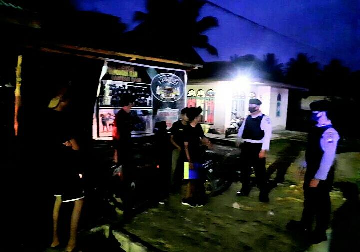 Polres Rohil Laksanakan Patroli R4 Pemantapan Harkamtibnas