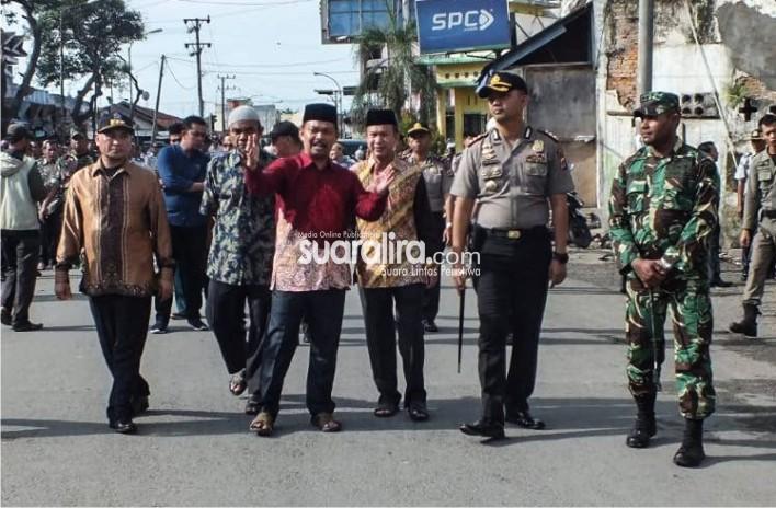 Bupati dan Forkopimda  Aceh Tamiang, Periksa Kesiapan Rekayasa Jalan