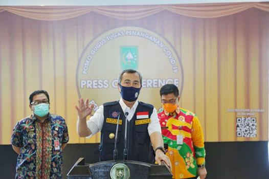 New Normal, Gubri Tegaskan Wajib Pakai Masker Dan Cuci Tangan