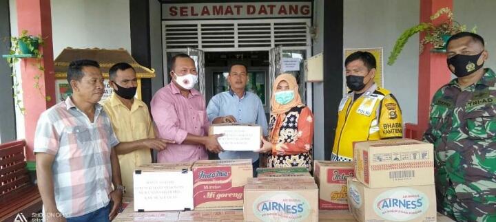 FKMM Salurkan Bantuan Korban Banjir di Wilayah Kecamatan Selangit