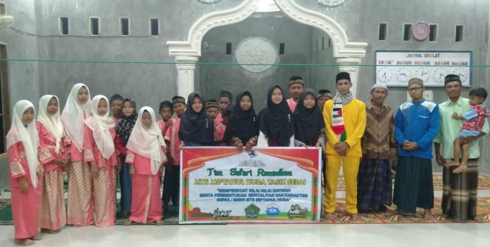 Kegiatan Safari Ramadhan Sekolah Menguji Mentalitas Siswa Siswi, Ini Penjelasan Kepsek Mts Miftahul Huda Tasik Serai