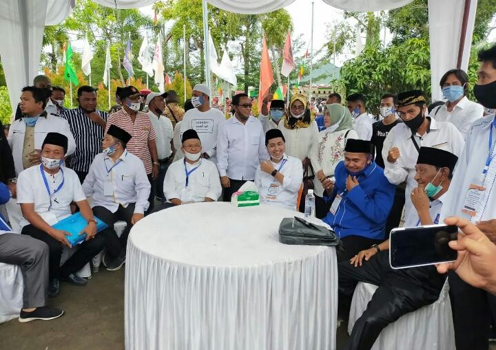 Terkendala B1KWK, Soekirman - Tengku M Ryan Belum Diterima Mendaftar oleh KPU Sergai