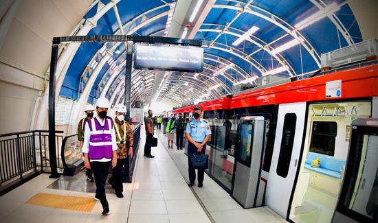 Menhub: Pembangunan LRT Jabodebek Wujud Kolaborasi Anak Bangsa