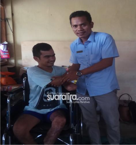Anggota DPRK Aceh Tenggara kunjungi Korban Sengatan Listrik