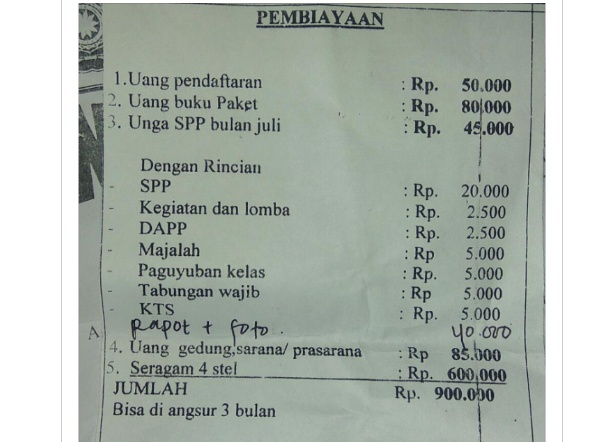 Tingginya Masuk Sekolah TK di Kabupaten Probolinggo Dinilai Wali Murid 'Mencekik'