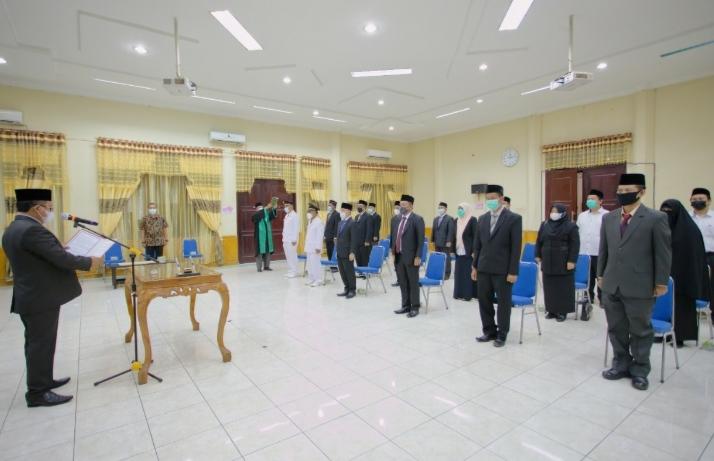 Bupati Aceh Tamiang, Lantik Pejabat Pengawas Dan Administrator