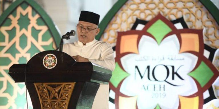 Sekda Aceh Buka Musabaqah Qiraatil Kutub.