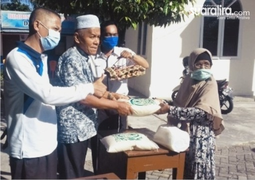 Antisipasi Warganya Terdampak Covid-19, Pengurus Kotas Salurkan Sembako