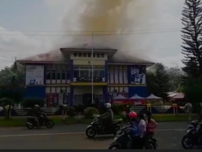 Kantor Pelayanan Pajak Kota Lubuk Linggau di Lalap Sijago Merah