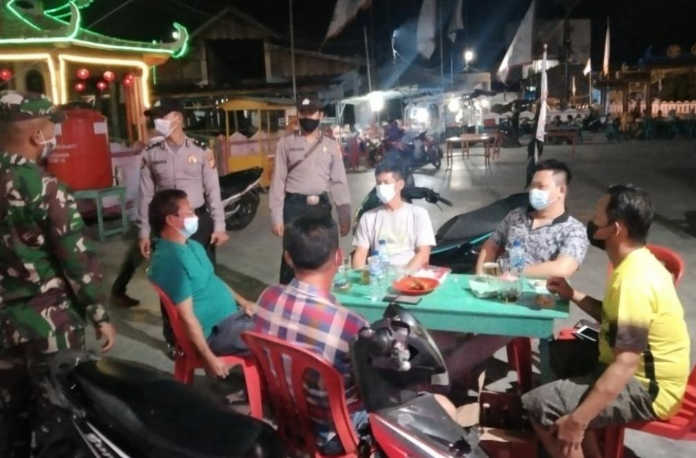 Pelaksanaan KRYD Polsek Panipahan di Kecamatan Pasir Limau Kapas