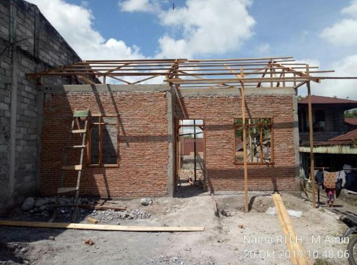 26 Unit Rumah di Kecamatan Wih Pesam dan Bukit di Rehabilitasi menjadi Rumah Layak Huni