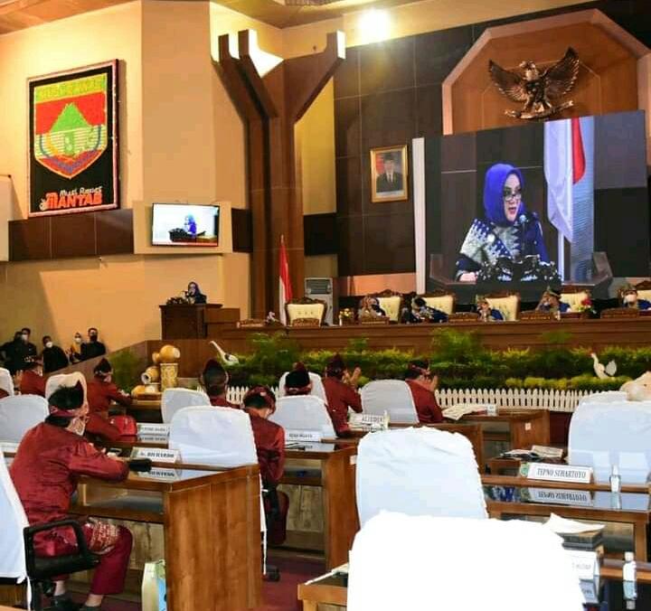 Rapat Paripurna Peringatan HUT Kabupaten Musi Rawas Ke 78 Tahun