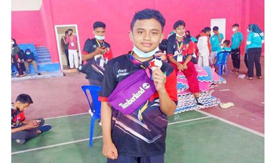Atlet Taekwondo Kembali Berprestasi, Kali Ini Tisan Raih Medali Perak di Jambi