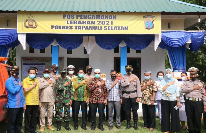 Dalam Rangka Mempersiapkan PAM Idul Fitri, Pemkab Paluta Laksanakan Rapat Koordinasi