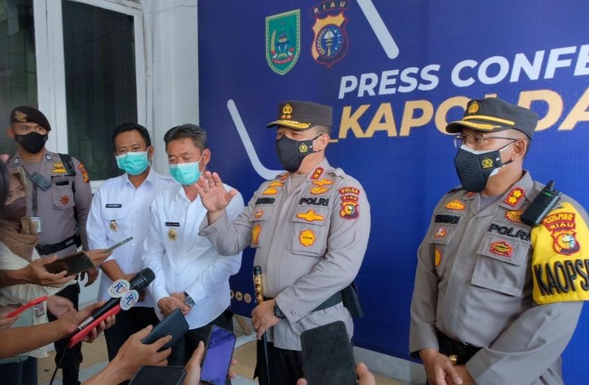 Respon Keluhan Nelayan, Kapolda Riau Kerahkan Bantuan Dua Kapal Polairud ke Bagansiapiapi