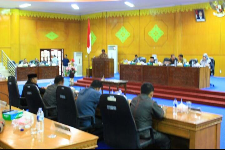 Rapat Paripurna Ke-5 DPRK Kabupeten Aceh Tamiang