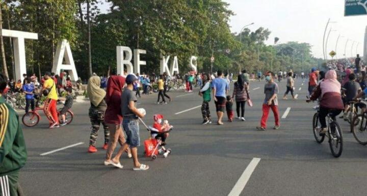 Untuk Sementara, CFD Kota Bekasi Ditiadakan