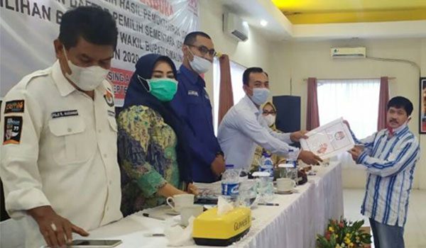Tetapkan DPS, KPU Simalungun Gelar Rapat Pleno Terbuka