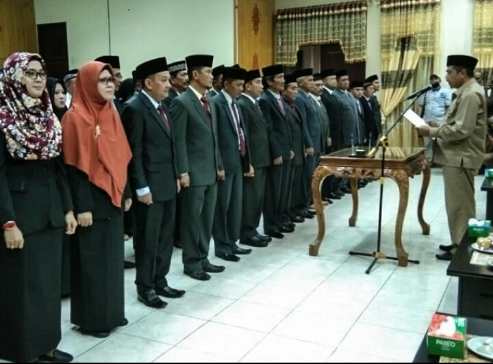 Bupati Aceh Tamiang, Kembali Rombak Kabinet Dan Mutasi, Pelantikan Direncanakan Siang Ini