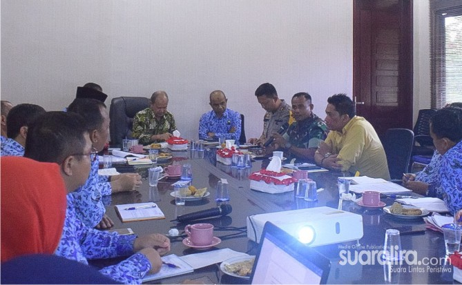Bupati Aceh Tamiang Rakor Bersama Forkopimda, Terkait Penyaluran Beasiswa Mahasiswa Kurang Mampu