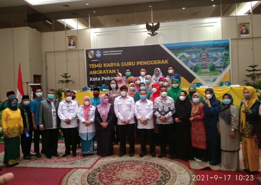 Temu Karya Guru Penggerak Angkatan I Resmi Ditutup Kadisdik Kota pekanbaru