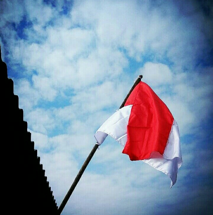 Ada UU, Pengibaran Bendera Merah Putih Masih Sepi