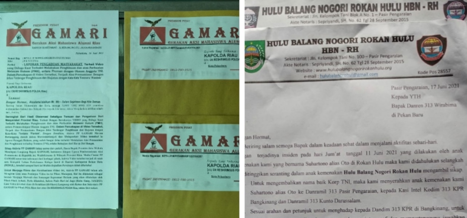 Dukung Arahan Presiden dan Bapak Kapolri, Aktivis GAMARI Minta Kapolda Riau Tangkap Preman Penghina Tentara