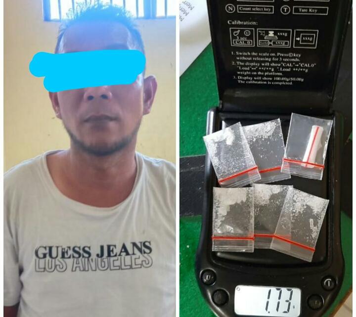 Dugaan Kepemilikan Sabu Seberat 1,73 Gram, Seorang Pria Ditangkap Polisi