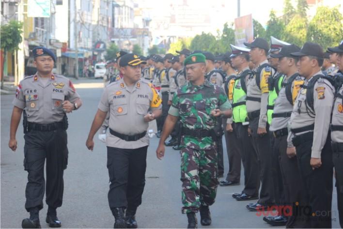 TNI - POLRI Gelar Apel Pergeseran Pasukan,  Guna Amankan Pemilu 2019