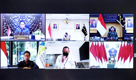TNI-Polri Dukungan Penuh dalam Penguatan Implementasi PPKM Mikro