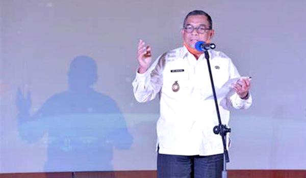 Wagubri Edy Natar Pimpin Entry Briefing BPK RI Terkait Pemeriksaan Pendahuluan Kinerja