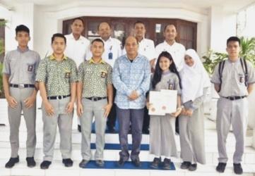 Pelajar Tebing Tinggi Peroleh Medali Emas di Kejuaraan Internasional Malaysia