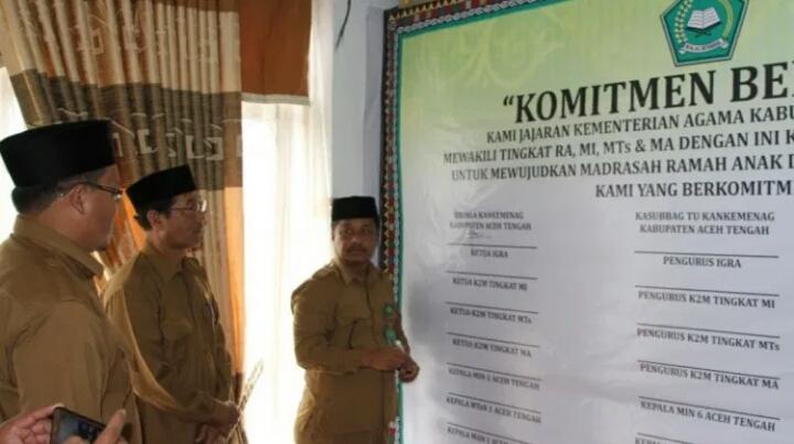 Aceh Tengah Komitmen Wujudkan Kabupaten Layak Anak