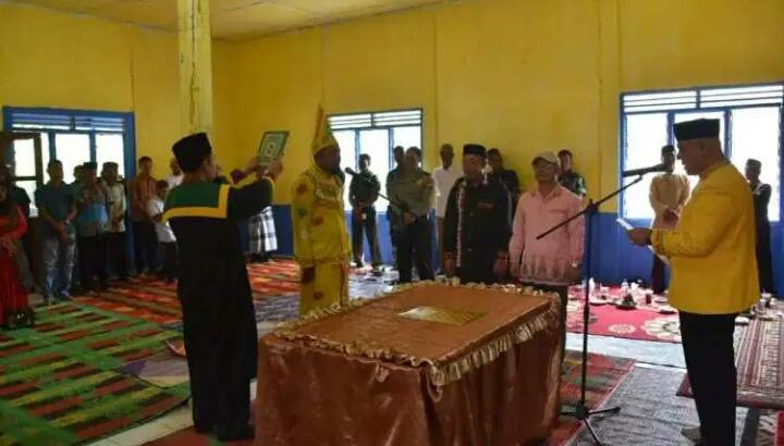 Shabela Lantik Mahmuddin Menjadi Mukim Singah Mata