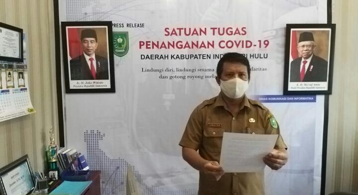 COVID-19 di Inhu Terus Melonjak, Korban Covid Meninggal Berjumlah 45 Orang