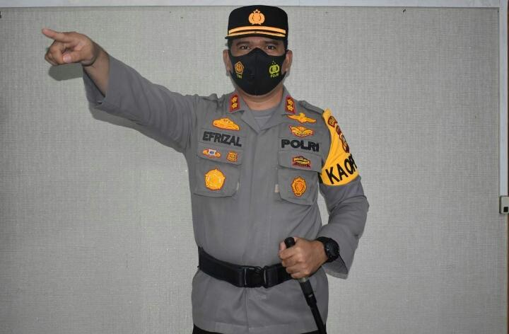 Polres Inhu Kerahkan 360 Personil, Siap Amankan PSU TPS 03 Desa Ringin Kecamatan Batang Gangsal