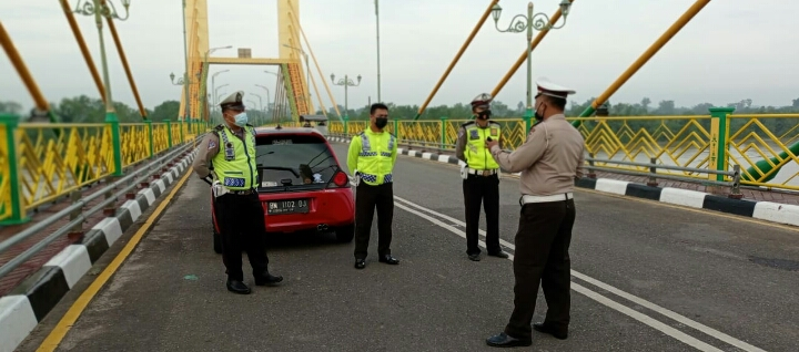 Beri Rasa Nyaman Pada Masyarakat, Polisi Patroli Antisipasi Balap Liar