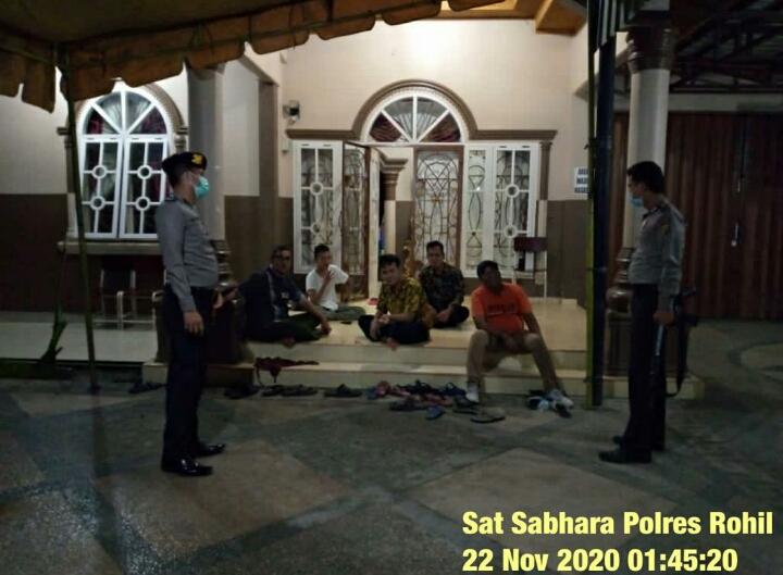 Kegiatan Patroli R4 Satuan Sabhara Polres Rohil Yang Ditingkatkan