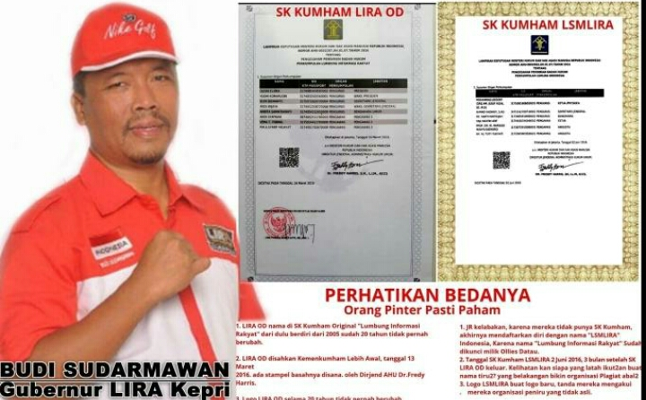 Lumbung Informasi Rakyat Kepri Apresiasi Pelantikan DPW Lsmlira Kepri
