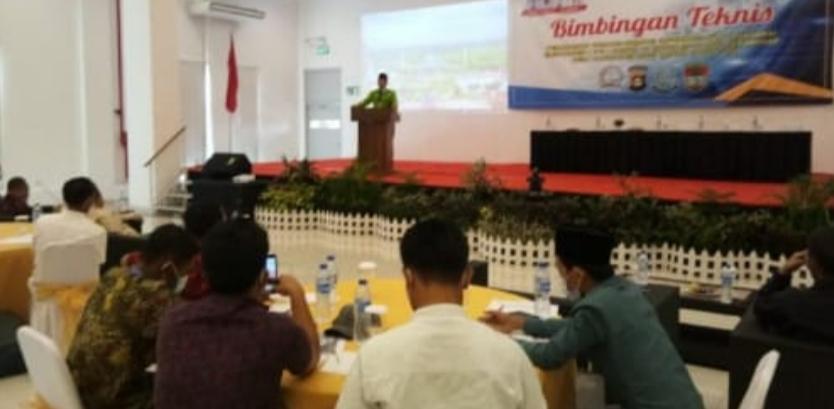 Bimtek UU ITE Seluruh Perangkat Desa Se Musi Rawas Resmi Ditutup, Heriyanto : 'Hati-hati Dalam Bermedsos'