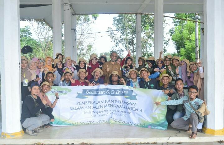 Wabup Aceh Tamiang, Apresiasi Gerakan Aceh Mengajar Batch 4