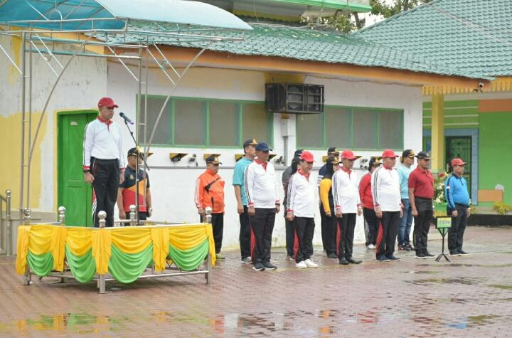 Upacara Pembukaan Pekan Olahraga Kabupaten KORPRI 2019