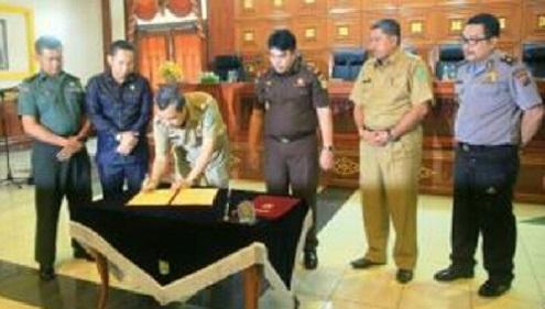 Tim Satgas Saber Pungli Resmi Dibentuk di Kabupaten Siak