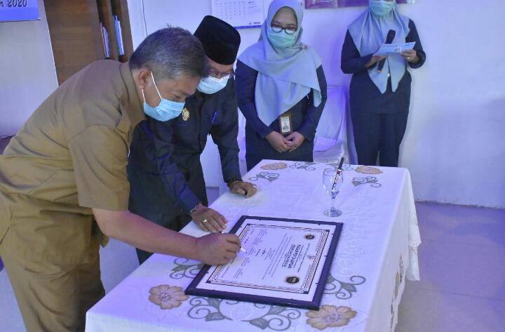 Pemkab Aceh Tamiang, Dukung BPS Dalam Pencanangan Menuju WBK Dan WBM