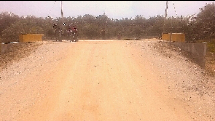 Dana Desa Morong kecamatan Sungai Lalah Inhu di Duga Salah Penempatan